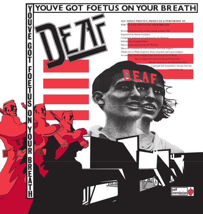 Foetus: Deaf – Vinyl